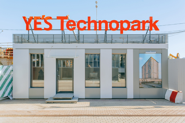 Modular buildings – Modular sales office of YE'S Technopark аparthotel