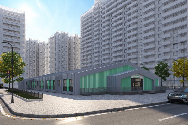 Modular buildings – The project of modular policlinic