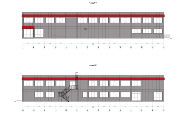 Modular buildings – Project of data center buildings for IT company