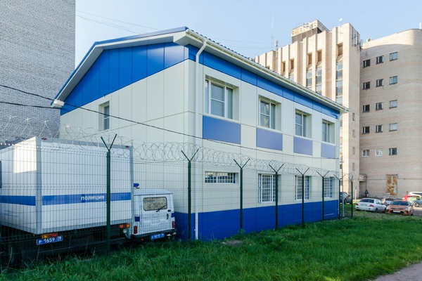 Modular buildings – Two-storey modular building for the State Ministry of Internal Affairs on Zagrebsky Boulevard