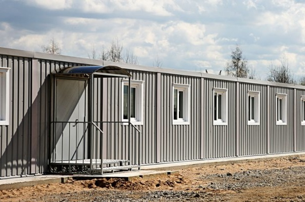 Modular buildings – ADMINISTRATIVE AND HOUSEHOLD COMPLEX FOR CONSTRUCTION HEADQUARTERS OF TRANSFORMER PLANT