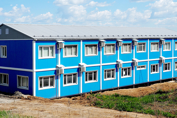 Modular buildings – MODULAR OFFICE FOR THE WAST RECYCLING PLAN